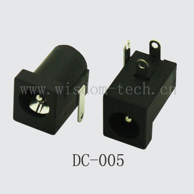 Акция! 500 шт./лот DC-005 DIP общего DC разъем питания DC Jack Женщин PIN2.1XO. D.5.5mm
